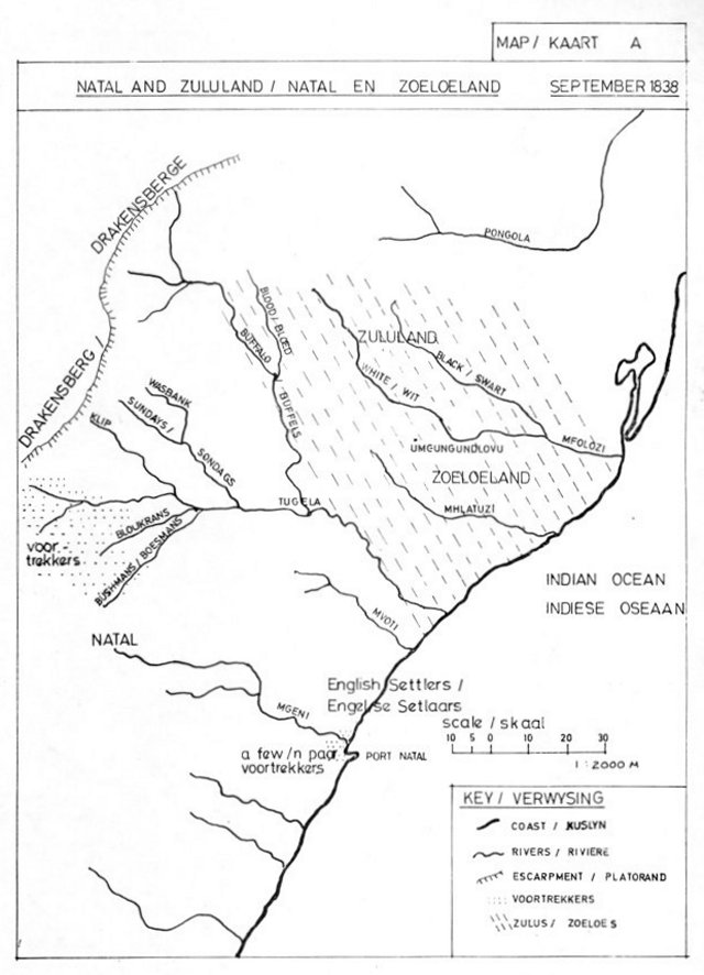 battlefield tour notes blood river 1978 south african military South African Submarines first map