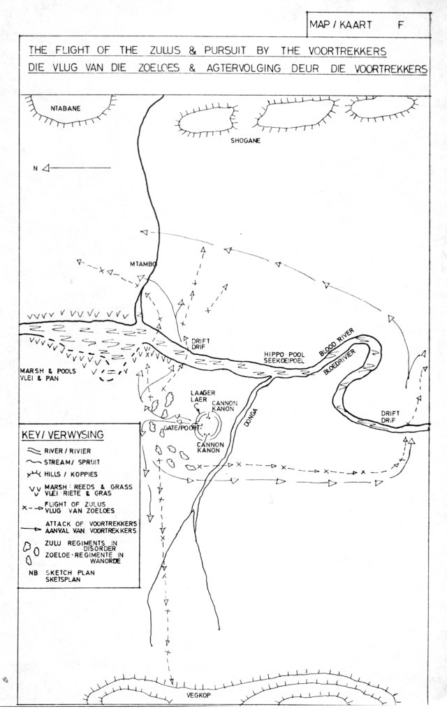 battlefield tour notes blood river 1978 south african military South African Army Equipment sixth map