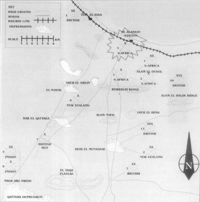 a history of the battle of el alamein For three years, axis and allied forces chased each other over the hostile terrain of the north african desert the tide turned in the allies' favour at the second battle of el alamein in.
