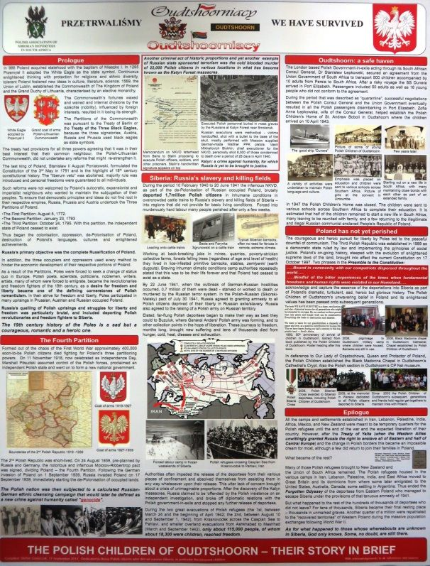 South African Military History Society - Journal - 'POSTER ON CANVAS